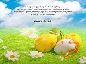 Życzenia Wielkanocne od WSBIO